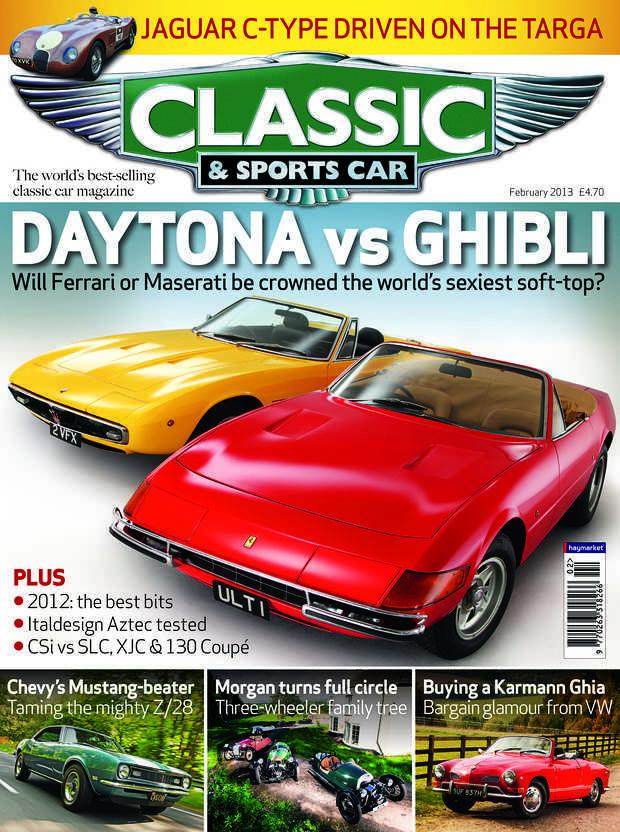 classic sports cars de fevrier 2013